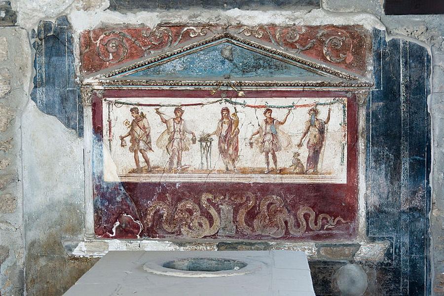 Pompeii – ancient kitchen