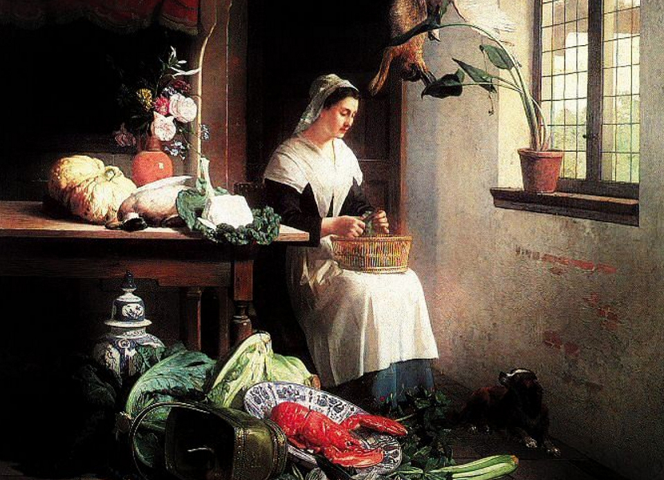 Famous Kitchen Paintings