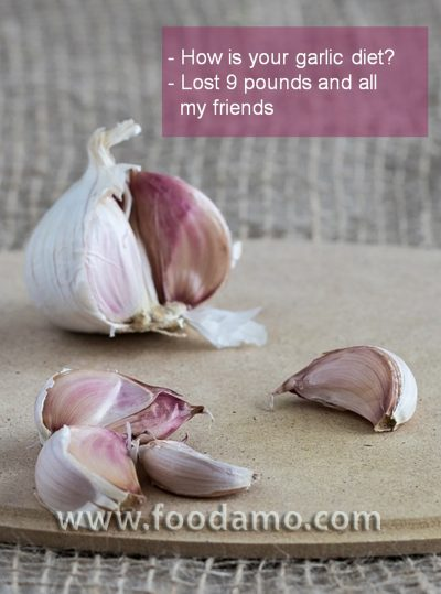 Garlic diet