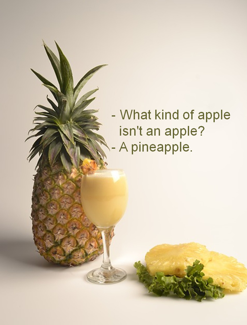 What kind of apple isn't an apple?