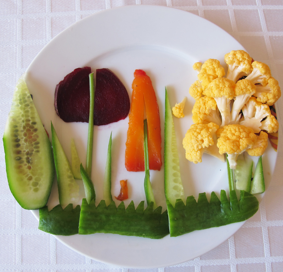 food arts vegeterian fall landscape