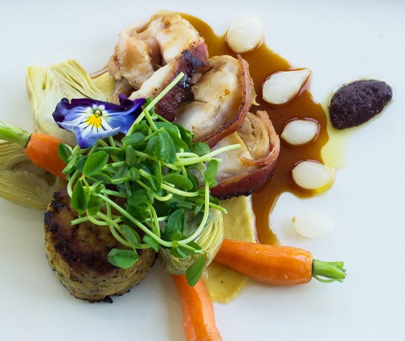Millcrof_-Inn_and_spa_dinner