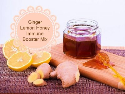 Ginger-Lemon-Honey Immune Booster Mix