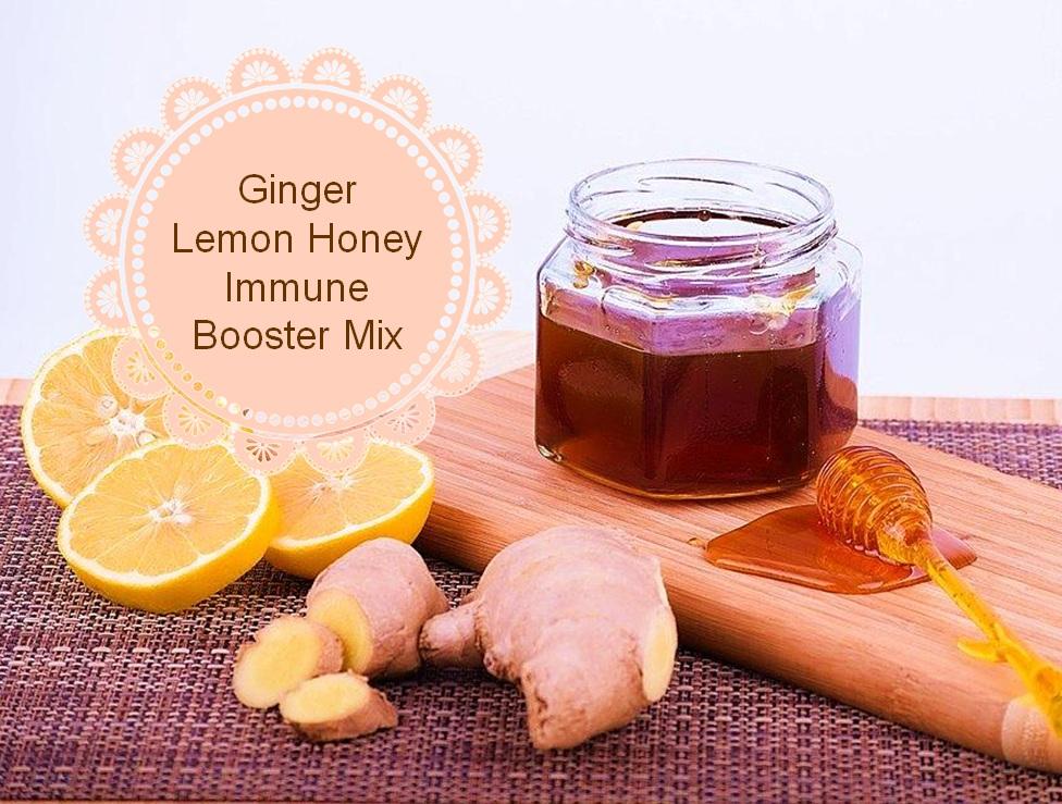 Ginger-Lemon-Honey Immune Booster Mix