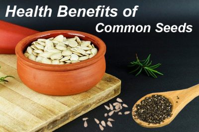Health Benefits of Common Seeds for Your References
